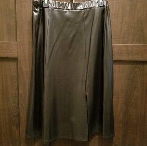 Mila & Milan Skirts - Mila & Milan Faux Leather Skirt